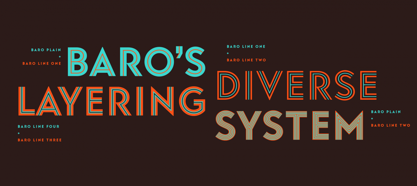Baro styles | Indian Type Foundry