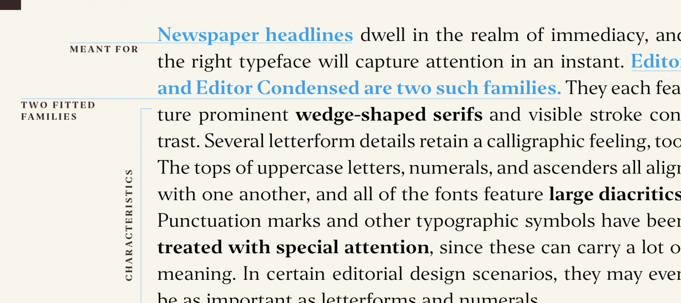 Editor styles | Indian Type Foundry