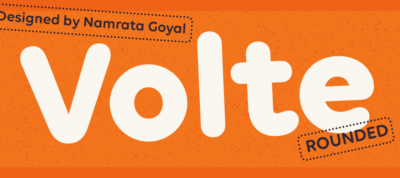 Volte Rounded compare | Indian Type Foundry