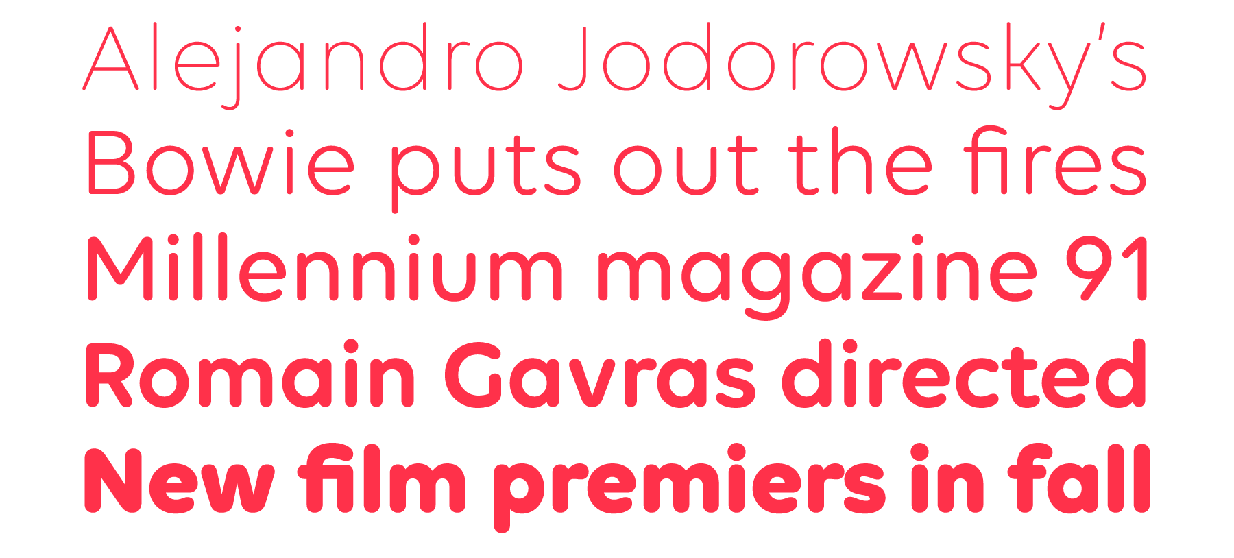 New Fonts: Volte Rounded, Diodrum Cyrillic and Diodrum Greek